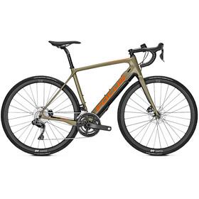 FOCUS Paralane² 9.8 Di2 E-racercykel oliven